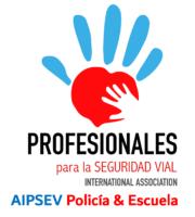Logo AIPSEV Policía & Escuela VER